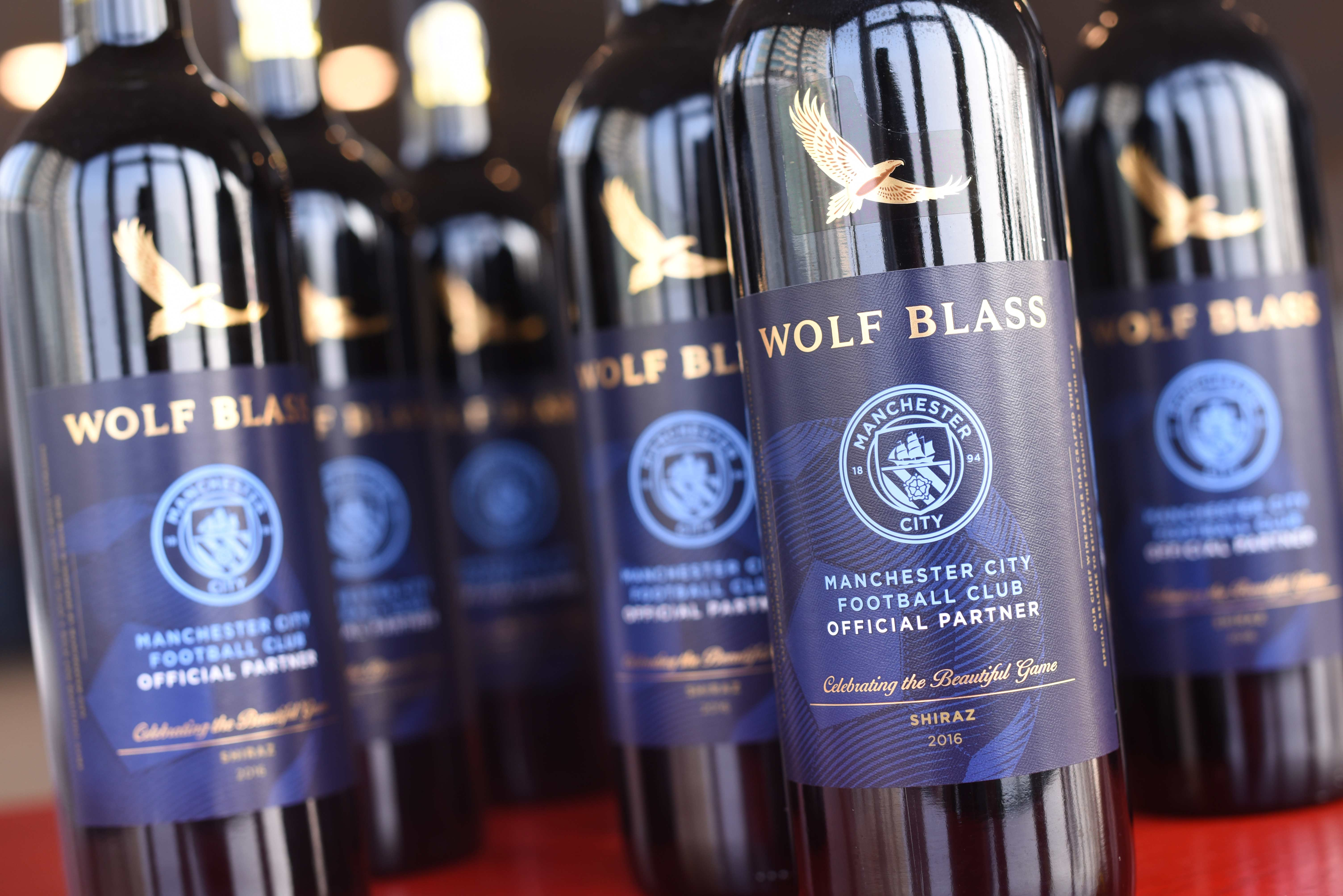 Manchester City Wolf Blass wine match day pack